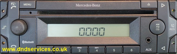 Radio decoding instantly decoding mercedes benz for Mercedes benz car stereo code