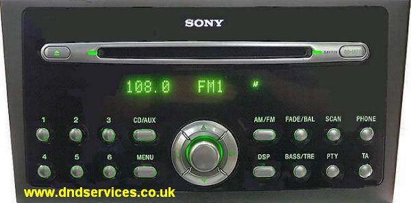 radio decoding instantly decoding sony ford cd132 cd6. Black Bedroom Furniture Sets. Home Design Ideas