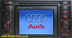 Audi Radio Navigation Plus A8