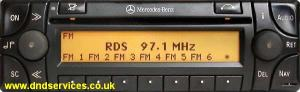 Mercedes Benz Audio 30