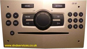 Vauxhall CD 30 - DND Services Ltd