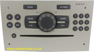 Vauxhall CD 30 MP3