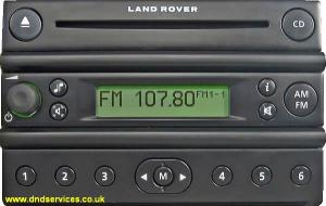 Land Rover Fl3 Cd Europe Dnd Services Ltd
