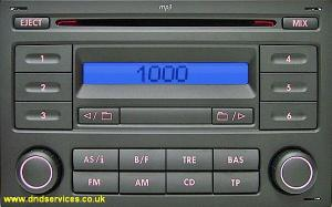 VW RCD 200 MP3