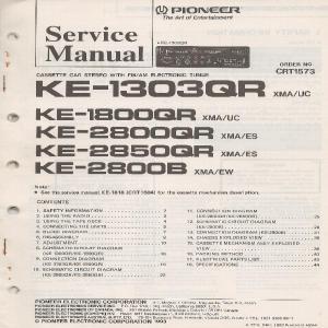 Ke1303qr  1800qr  2800qr  2850qr  2800b  DND Services Ltd