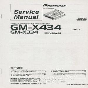 gm-x434 / gm-x334 - dnd services ltd pioneer wiring diagram gm x434 avh p1400dvd pioneer wiring diagram #1