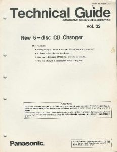 Technical Guide 6 Disc Changer