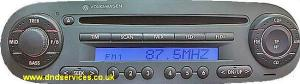 VW NB CD Radio EUR H0002/S0003