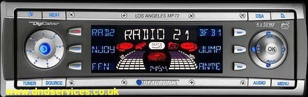 Blaupunkt Los Angeles MP72