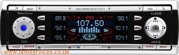 Blaupunkt San Francisco CD72